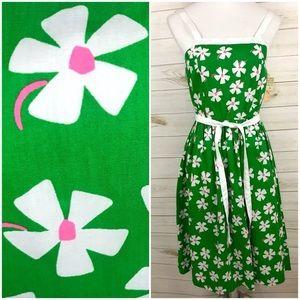<Vintage> Mod Floral 60s Sundress Dress Rockabilly